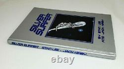 1995 Marvel SILVER SURFER Leather Hardcover LIMITED EDITION Hand Signed STAN LEE