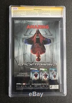 1ST APP SILK SIGNED 4X CGC SS 9.8 Amazing Spider-Man 1 SIGNED STAN LEE RAMOS