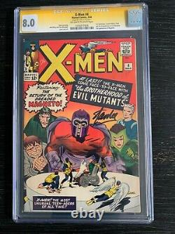 1st appearance Scarlet Witch X-Men #4 1964 CGC 8.0 Signed Stan Lee WandaVision