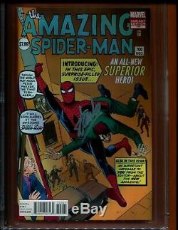 2013 Marvel Amazing Spiderman 700 Cgc 9.8 Stan Lee Signed 90th Birthday Ditko