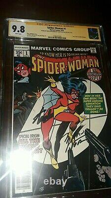 2x Signed 9.8 Spider-Woman (1st Series) #1 1978 CGC SS Stan Lee & Marv Wolfman