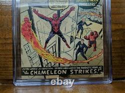 AMAZING SPIDER-MAN #1 (Marvel 1963) Stan Lee Steve Ditko CGC 5.0 Restored SIGNED