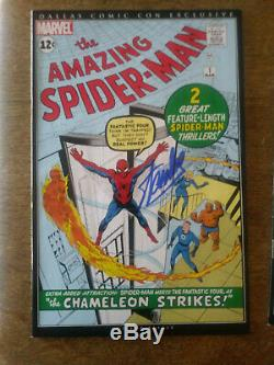 AMAZING SPIDER-MAN #1 Signed by STAN LEE Dallas Comic Con Certified / COA