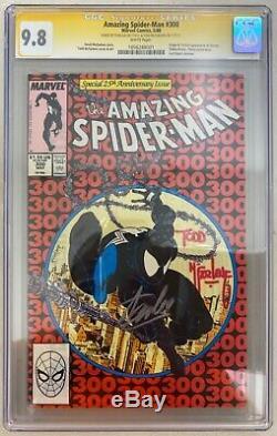 AMAZING SPIDER-MAN #300 CGC 9.8 SS SIGNED STAN LEE TODD McFARLANE 1st VENOM