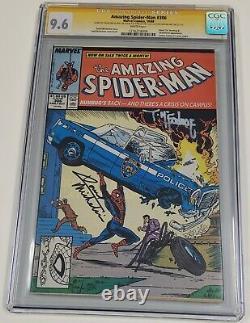 AMAZING SPIDER-MAN 306 CGC 9.6 WHITE Signed STAN LEE & Todd Mcfarlane Marvel Key
