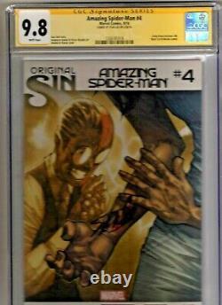 AMAZING SPIDER-MAN #4 CGC 9.8 NM 1st SILK/CINDY MOON SIGNED STAN LEE