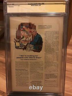 AMAZING SPIDER-MAN #50 CGC 5.5 SS SIGNED STAN LEE 1ST KINGPIN Key