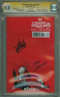 AMAZING SPIDER-MAN #692 1970s CGC 9.8 SIGNATURE SERIES SIGNED STAN LEE ROMITA SR