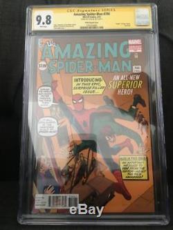 AMAZING SPIDER-MAN #700 DITKO VARIANT CGC 9.8 Signed STAN LEE