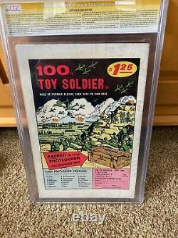 AMAZING SPIDER-MAN ANNUAL #1 (1964) 1st Sinister six Signed Stan Lee CGC 6.0