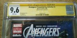 AVENGERS SS Signed by Stan Lee Autograph CGC 9.6 #1 Gillette custom edition