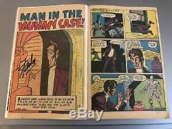 Amazing Fantasy #15 1962 Affordable Reader Copy Signed by Stan Lee