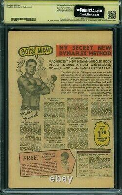 Amazing Spider-Man #1 1963 0.3 Coverless Signed Stan Lee CBCS Yellow Label