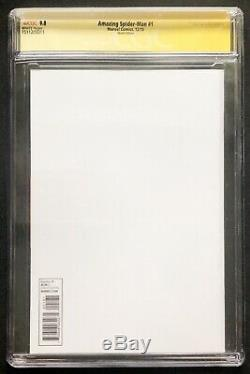 Amazing Spider-Man #1 CGC 9.8 SS signed Stan Lee 2017 2015 Sketch Edition