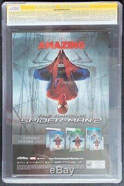 Amazing Spider-Man #1 CGC 9.8 SS signed Stan Lee, Ramos, Olazaba, Delgado 2014