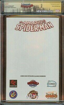 Amazing Spider-Man #1 CGC 9.8 Signed Stan Lee, John Romita & Dan Slott Variant