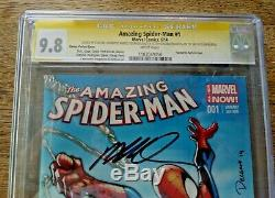 Amazing Spider-Man #1 CGC SS X4 9.8 Signed by STAN LEE +++ 1st App Cindy Moon