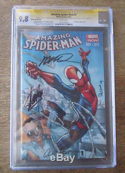 Amazing Spider-Man #1 CGC SS X4 9.8 Signed by STAN LEE +++ EXPRESS MAIL OPTION