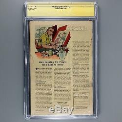 Amazing Spider-Man 12 CGC SS 1.0 3rd appearance Dr. Octopus STAN LEE SIGNED