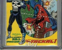 Amazing Spider-Man #129 CGC 9.4 NM SIGNED STAN LEE 1st App PUNISHER Romita Cover