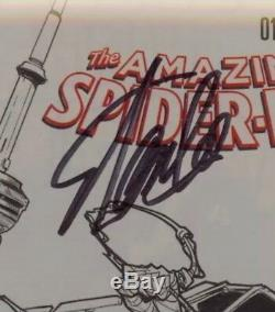 Amazing Spider-Man 17 Fan Expo Ramos Stan Lee sketch CGC 9.8 Signed By Stan Lee