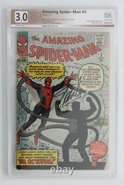 Amazing Spider-Man #3 PGX 3.0 (Marvel) Signed by Stan Lee