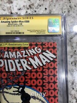 Amazing Spider-Man #300 CGC 9.4 NEWSSTAND Stan Lee Signed 1st VenomASM #300