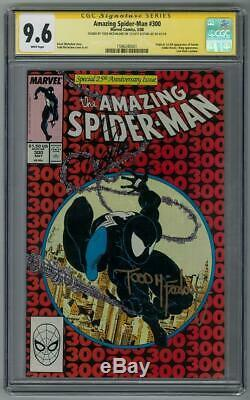 Amazing Spider-Man #300 CGC 9.6 (W) Signed By Stan Lee & Todd Mcfarlane