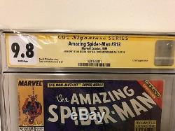 Amazing Spider-Man #313 CGC 9.8 Stan Lee Sighned. Signed 2 X