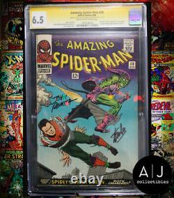 Amazing Spider-Man #39 CGC 6.5 STAN LEE + JOHN ROMITA SIGNED! (Marvel)