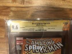Amazing Spider-Man 678 CGC 9.6 Venom Variant 4x Signed Stan Lee BEAUTIFUL COMIC