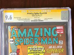 Amazing Spider-Man #700 1200 Ditko Variant Signed by Stan Lee White pages
