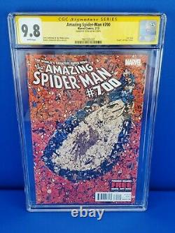 Amazing Spider-Man #700 1st Printing CGC 9.8 Signed by STAN LEE (2013) Marvel