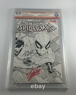 Amazing Spider-Man 700 CBCS 9.8 signed by Stan Lee