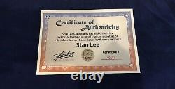 Amazing Spider-Man #9 Skottie Young Litho C2E2 Exclusive Signed- Stan Lee with COA