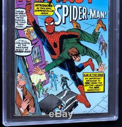 Amazing Spider-Man Index #1 SIGNED STAN LEE 9.4 PGX Amazing Fantasy #15 Art