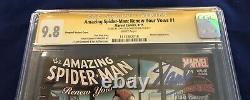 Amazing Spider-Man Renew Your Vows 1 CGC 9.8 Signed Stan Lee & Joanie Lieber