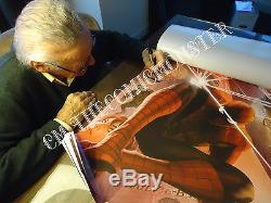 Amazing Spider-man #1alex Ross Variant Cover Art Posterhand-signed By Stan Lee