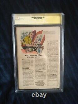 Amazing Spider-man #25 CGC SS 3.0 signed Stan Lee Key Issue