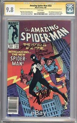 Amazing Spider-man #252 Cgc 9.8 Ss Signed By Stan Lee, Romita, Janson & Shooter