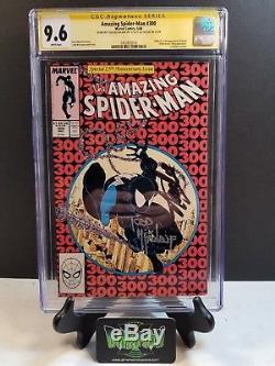 Amazing Spider-man #300 Cgc Ss 9.6 Signed 2x Stan Lee Mcfarlane 1st Venom App