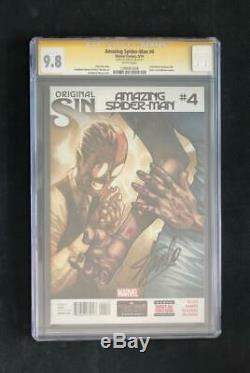 Amazing Spider-man #4 Cgc 9.8 Ss Signed By Stan Lee 1st App Cindy Moon Silk