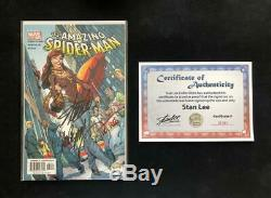 Amazing Spider-man #492 Signed Stan Lee + Campbell Wc/oa Variant 51 Mary Jane 1