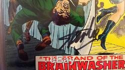 Amazing Spider-man #59 Cgc 7.0 Oww Ss Stan Lee Signed Cgc #1197729026