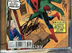 Amazing Spider-man #700 Cgc 9.6 Ss Ditko 1200 Variant Signed By Stan Lee