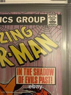 Amazing Spiderman #238 Newsstand 8.5 Cgc Signed By Stan Lee