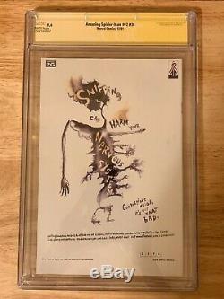 Amazing Spiderman 36 9/11 9.4 CGC Signed STAN LEE, Signed/Sketch HANNA & ROMITA J