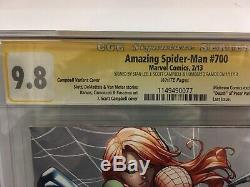 Amazing Spiderman #700 & Superior Spiderman #1 CGC 9.8 NM Signed By Stan Lee