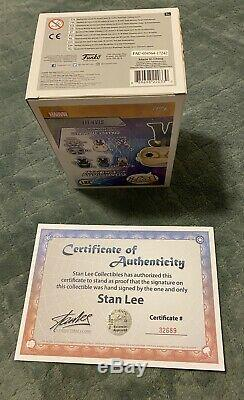Autographed Funko Pop signed by Stan Lee Walmart Exclusive Guardians Galaxy COA