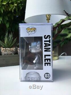 Autographed Silver Stan Lee Funko Pop Signed by Stan Lee SUPER RARE & EXPENSIVE